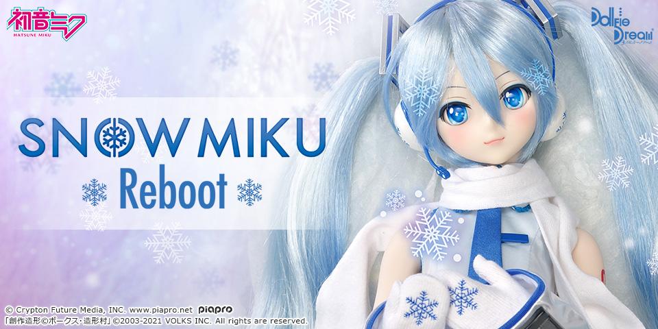 DD「雪ミク Reboot」