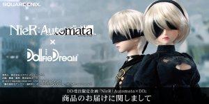 2018年DD受注限定企画「NieR:Automata × Dollfie Dream」緊急事態宣言による店舗休業中の店頭お届け延期のお知らせ(2次お届け分)
