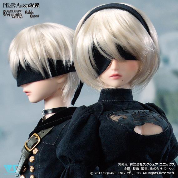 「NieR:Automata × Dollfie Dream」2次お届け日決定のお知らせ
