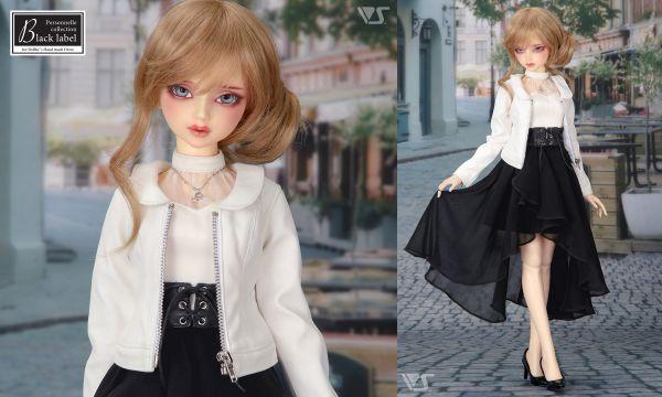 ドルパ43新作ドレス「ブラックスカートコーデ」 着せ付け方のご案内