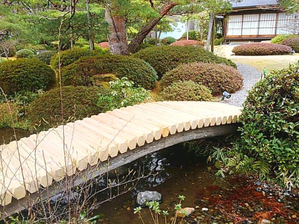 天使の里 庭園便り・橋の修繕