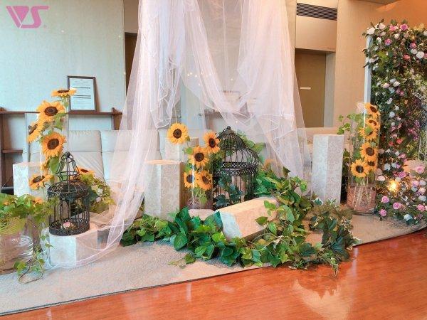 四季の華の会 ─葉月─ 向日葵のご案内